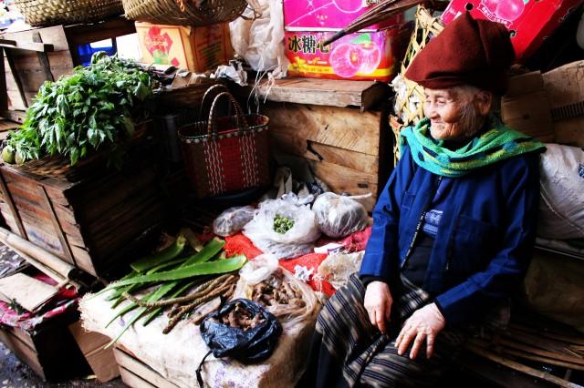 Mercado en Kalaw / Market in Kalaw
