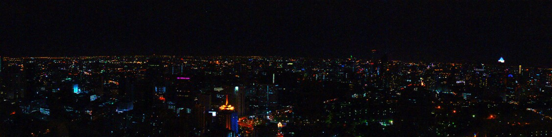 Vista nocturna deBangkok / Bangkok at night