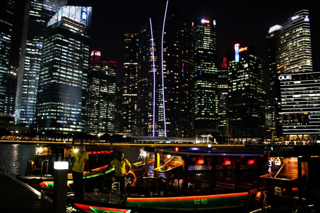 Singapur de noche / Singapore by night